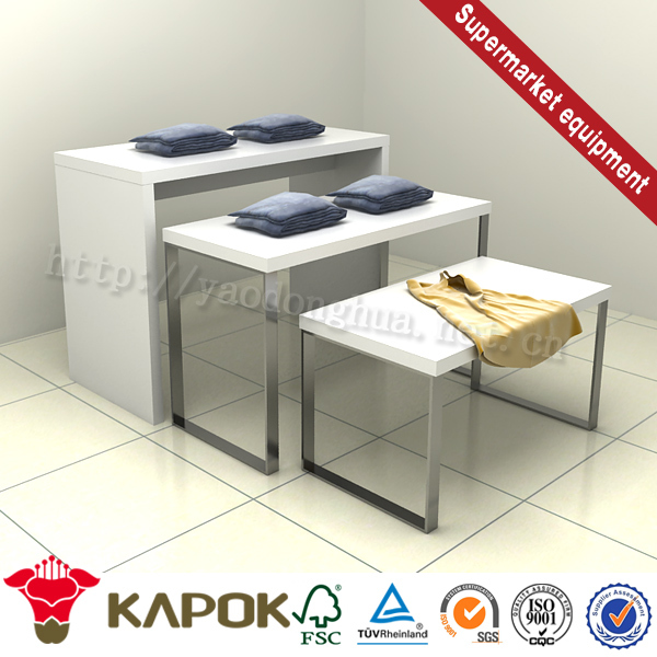 Fashionable fiberglass cloth coated with aluminum foil racks and stands