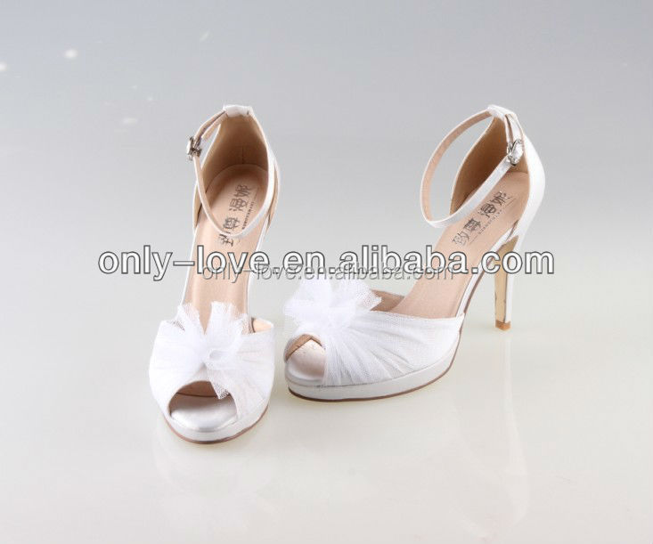 BS731 custom handmade simple open toe bridal wedding shoes,party shoes,prom shoes