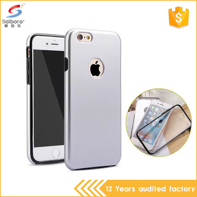 Top sale shockproof 360 full cover for iphone 6s case bumper