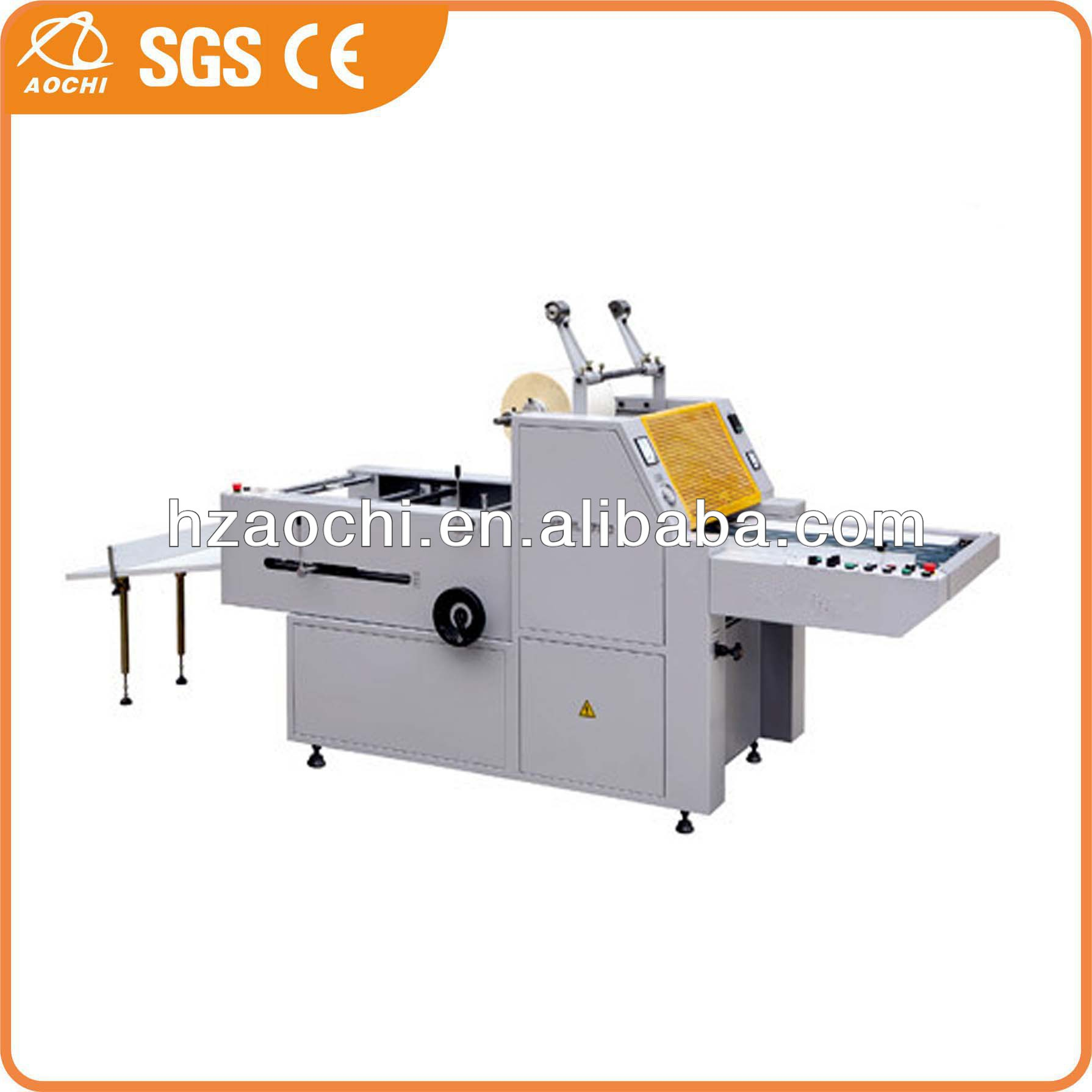 YFML-720/920/1200 semi-automatic gluing laminated machine with electric heating