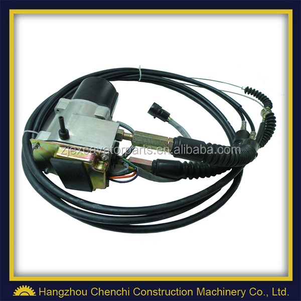R220-5 R220-7 excavator engine parts throttle motor long cable 21EN-32200 11E9-62010