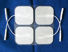 Massage Tens Electrode Gel Pads with CE