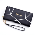 New purse lady long zipper hand wallet student fashion large capacity Korean version handbag manufacturers direct sale