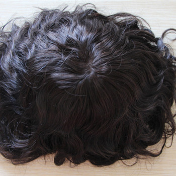 100% indian human hair swiss lace or french lace with skin mens toupee in stock.