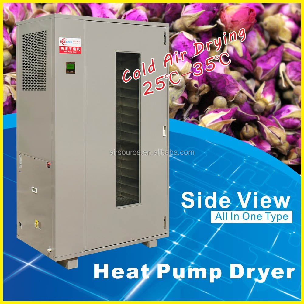 Industrial Precious Herbs and Flowers Dehydrator Seafood Drying Machine Heat Pump Dryer