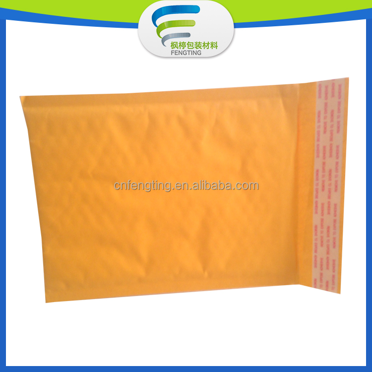 PE air bubble bag envelope packing bag recycle pink plastic envelope