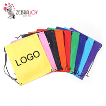 Wholesale multiple colors cheap eco-friendly packaging custom polyester mini printing bags small drawstring bag