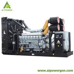 50hz Ai power diesel generator 2000kva 1600kw power by Japan Mitsubishi S16R-PTAA2