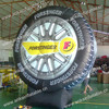 Advertising inflatable tyre model with 12 months warranty