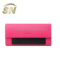 2014 trendy new zipper wallet phone case, mobile phone leather wallet