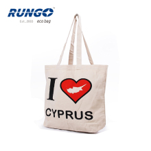 factory direct selling reusable gift shopper cotton canvas tote bag