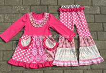 2015 kid clothes children fall boutique clothing set heart top girl valentines day outfits persnickety girls outfit