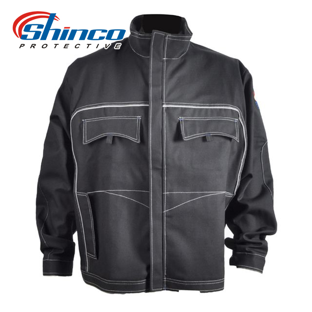 anti fire protective FR jacket for welding workwear