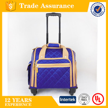 2016 hot sell business computer bag, travel organization trolley laptop case with wheels