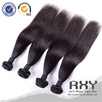 Directly factory wholesale straight virgin brazilian hair