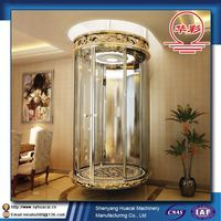 Luxury 800kg Comfortable ISO factory price cheap elevator