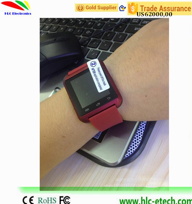 Bluetooth u8 Smart Watch WristWatch for iPhone 5s 6 plus for Samsung Galaxy S6/S6 Android Phone Smartphones