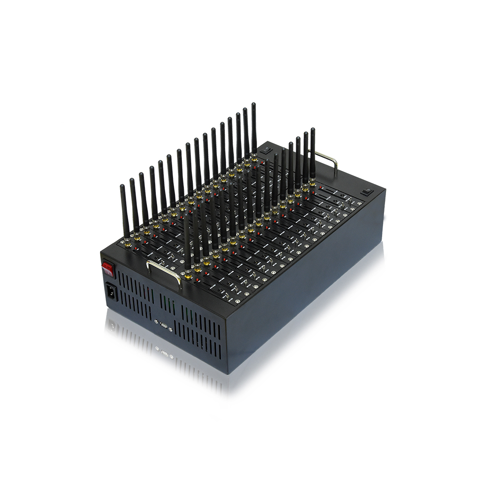Quectel Sim Box 8 16 32 64 Port Bulk SMS Gateway Hardware, GSM SMS Sending Device Factory Price
