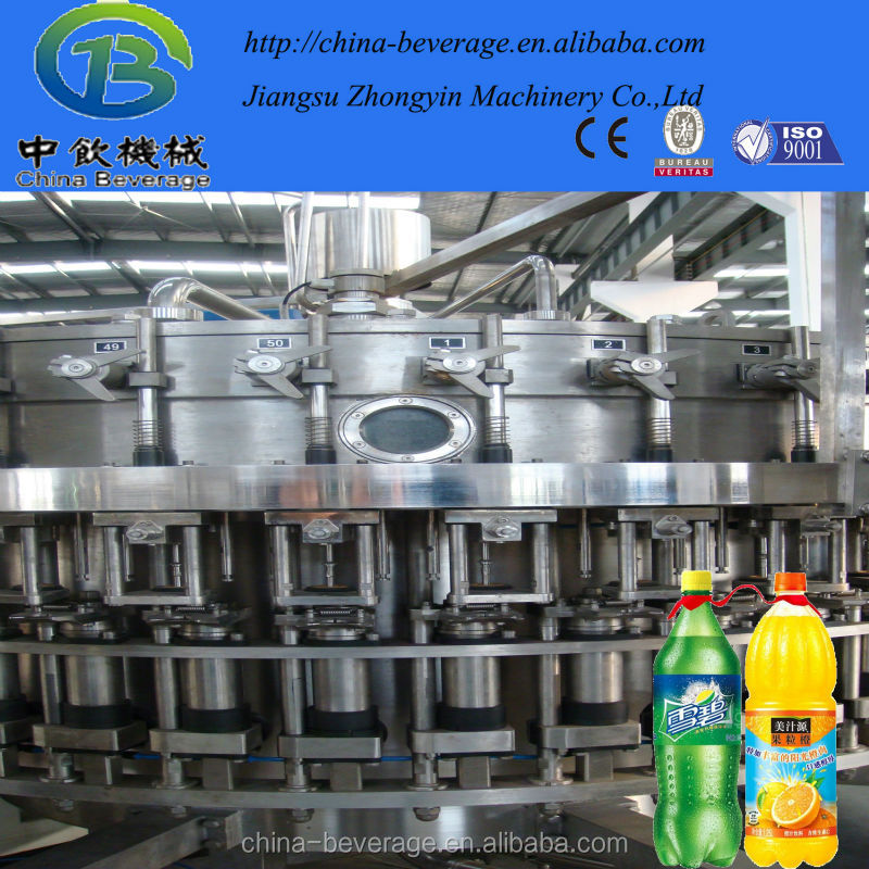 carbonated soft drink making machine