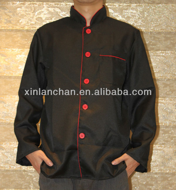 custom made cotton chef coat manufacture