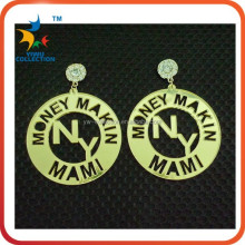 New Hip Hop Acrylic Basketball Wives Hoop Earrings