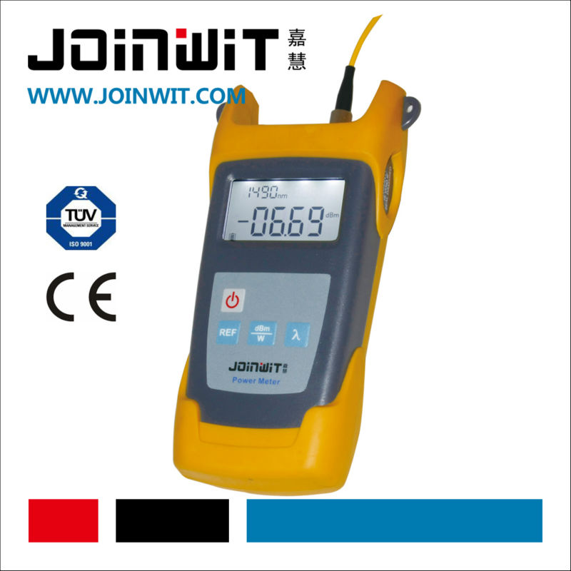 JOINWIT,JW3211,Alkaline Battery and AC Adapter for power supply,optical power meter