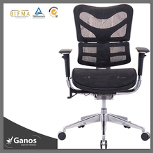 high back manager black office mesh chair