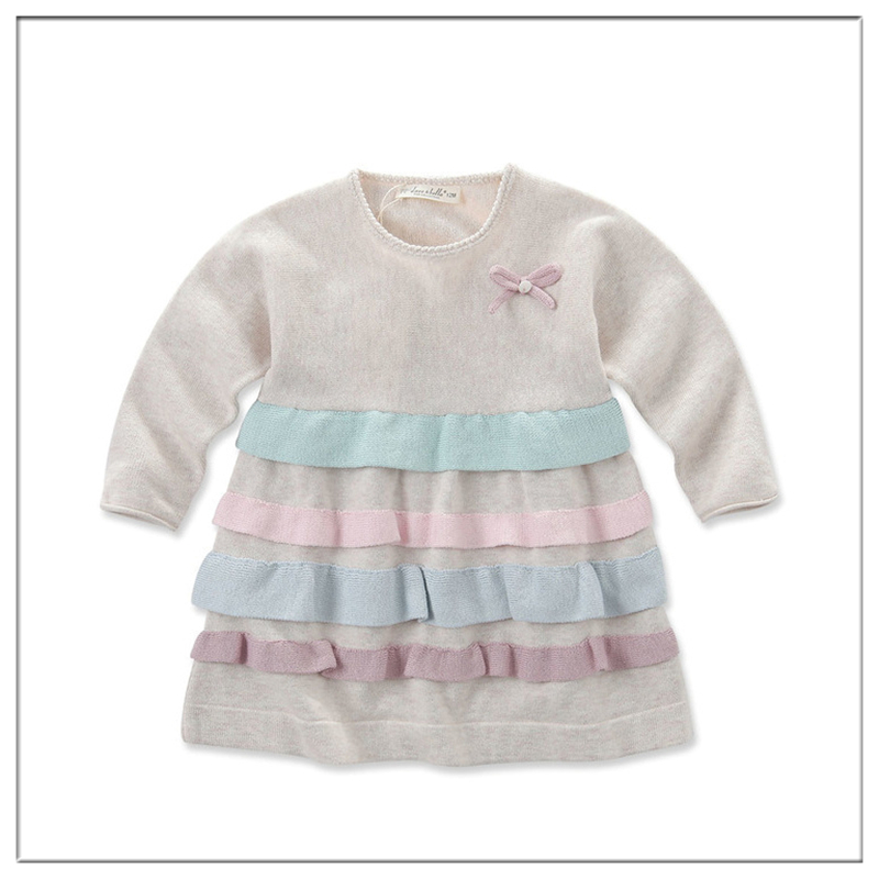 Beautiful Long Frocks Images Colorful Layered Baby Girl Dresses