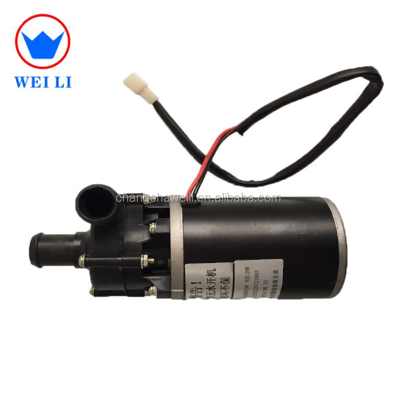 Bus/truck air conditioning electric water pump motor price high quality water pump