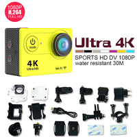 FULL HD 4k WIFI Action Camera with 2.0'' TFT display and Waterproof Sports camera
