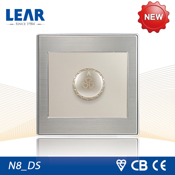 15 years warranty push button dimmer switch