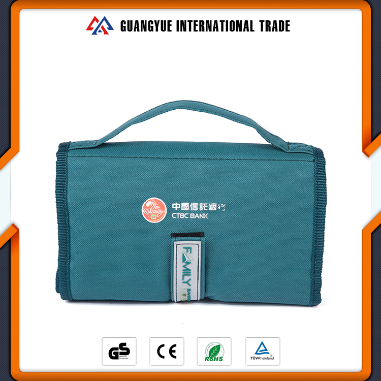 Guangyue New Design Reusable Polyester Oxford Foldable Shopping Bags