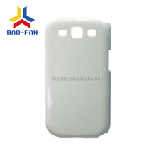 3D blank sublimation mobile phone case for samsung S3