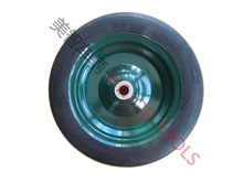 single wheel wheel barrow solid rubber wheel 13X2.5