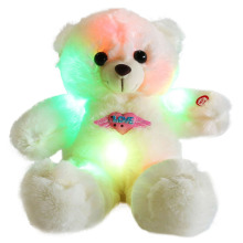 38cm CE Audited LED Bear for Babies Plush Toy