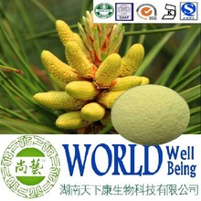 Hot sales Pine pollen extract/pine pollen powder/Nutrition supplement plant extract