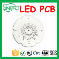 Smart Bes High power led aluminum pcb,metal core alu PCB, AL MC PCB board