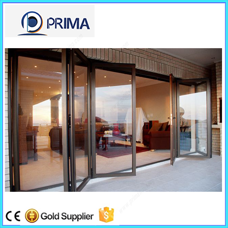 spacious vision aluminum glass bifold door