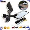 BJ-RM-033 Motorcycle 8mm 10mm Screw Side Mirrors Rearview Mirror