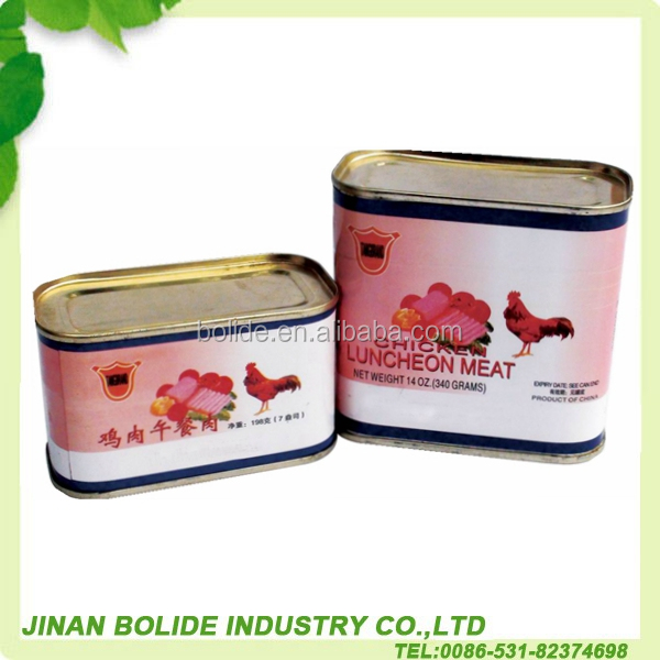 Canned Chicken Luncheon Meat Well Cooked ChickenMeat 340g/198g