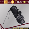 Unique golf bag and Black golf bag, Polyester golf stand bag