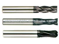 carbide cutting tools: carbide end mills and drill