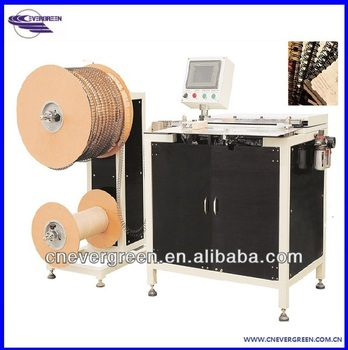 double wire binding machine 520,double loop wire bind machine