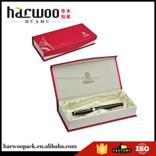 High Quality Cardboard Paper Pen Box with Sik Lined