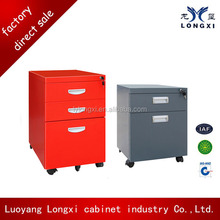 metal mobile filing cabinet pedestal with wangtong central lock