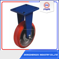 Latest Solid Wheel 4inch Cast Iron Heavy Duty Castor Wheel Price