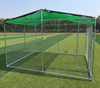 High quality cheap hot sale durable and anti-rust galvanized large chain link dog kennels/cages