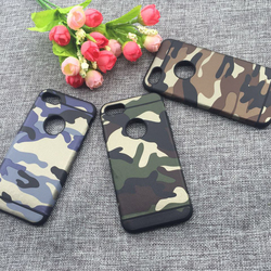 2017 Newest Ordinary section+Camouflage pattern PU leather lagging TPU for case iphone 7