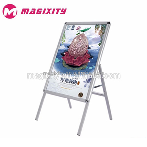 A Board Pavement Sign Poster Display Stand Advertising Board