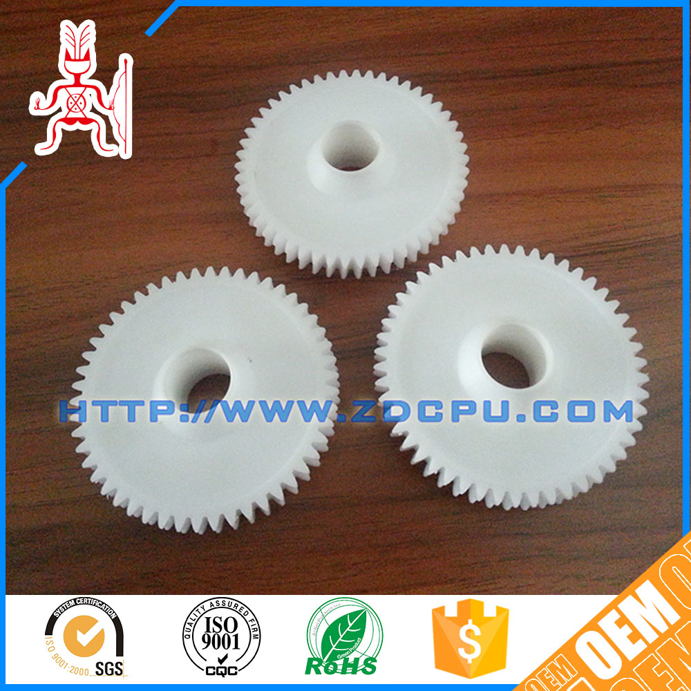 Customized small nylon plastic gears for toys